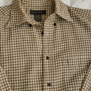 Vintage Banana Republic Mens Med LS 100% Cotton